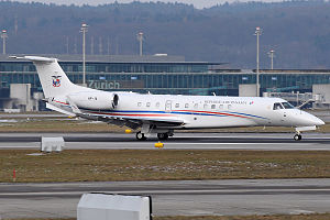 Panamanian Public Forces - Panama Air Force Embraer ERJ-135BJ Legacy 600.