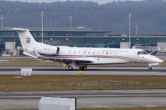 Panamanian Public Forces - Panama Air Force Embraer ERJ-135BJ Legacy 600.