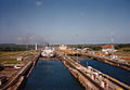 Panama Canal locks 1994.jpg