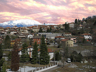 Bedero Valcuvia Comune in Lombardy, Italy