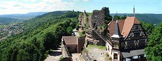 Château de Hohbarr - Image: Panorama Haut Barr