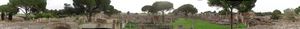 Archaeological open-air museum - Ostia Antica, near Rome.