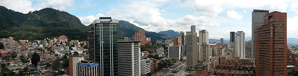 Panorama del Centro Internacional de Bogotá