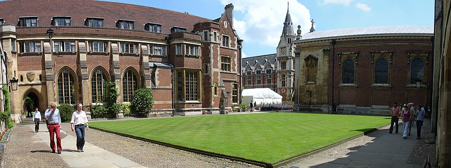 A view of the Old Court of Pembroke College