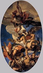 Paolo Veronese - Jupiter Hurling Thunderbolts at the Vices - WGA24935.jpg
