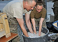 Paper and sawdust, Helping to fuel Afghanistan 130503-F-XX000-004.jpg