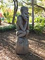 "Papua New Guinea Sculpture Garden at Stanford University, ""The Thinker"" 4.jpg"