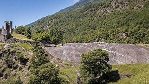 Grosio - Image: Parco Grosio La Rupe Magna