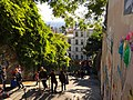 Paris 75018 Rue du Calvaire vers rue Gabrielle 20161030 (1).jpg
