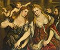 Paris Bordone - Allegory (Venus, Flora, Mars and Cupid) - WGA2454.jpg