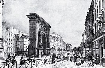 Paris Porte Saint-Denis c1840.jpg