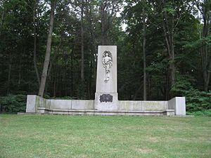 Francis Parkman - Parkman Memorial near Jamaica Pond