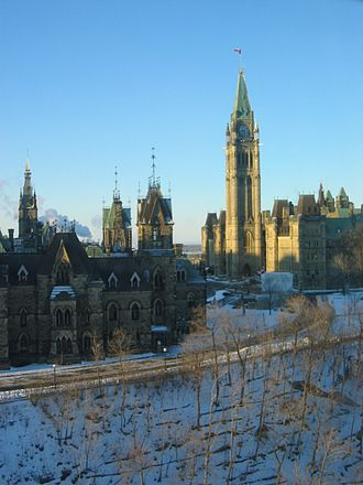 Parliament Hill Rehabilitation - Image: Parliament Hill in Winter