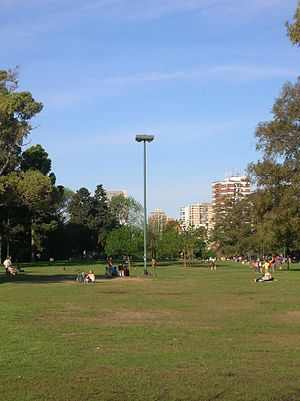 Saavedra, Buenos Aires - Image: Parque Saavedra 3