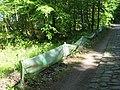 Parsteiner See Amphibienzaun.JPG