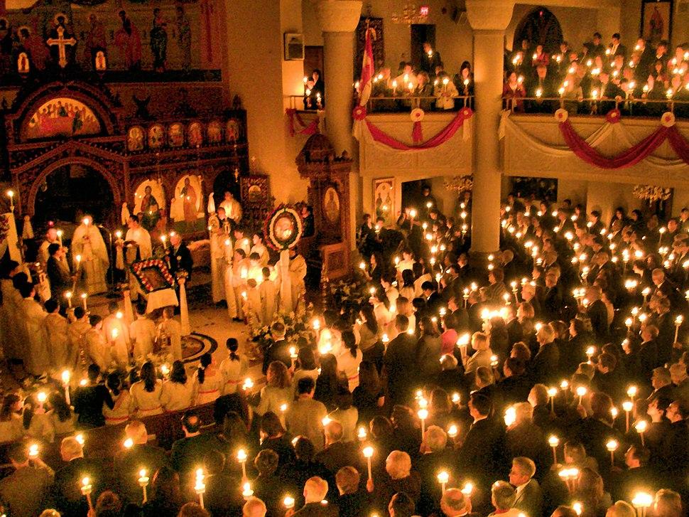 Paschal Candles - Annunciation, Toronto