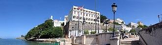 Old San Juan - Paseo de La Princesa