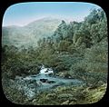 Pass of the Trossachs and Ben Venue, Highlands of Scotland - a lantern slide used by John Flynn in lectures - (John Flynn) (14544053407).jpg