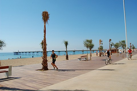 Beautiful small beach towns near Barcelona