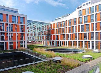 Ochota - Physics' Campus of Warsaw University in Ochota