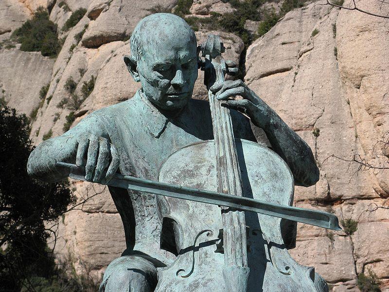 File:Pau Casals centenary statue.jpg
