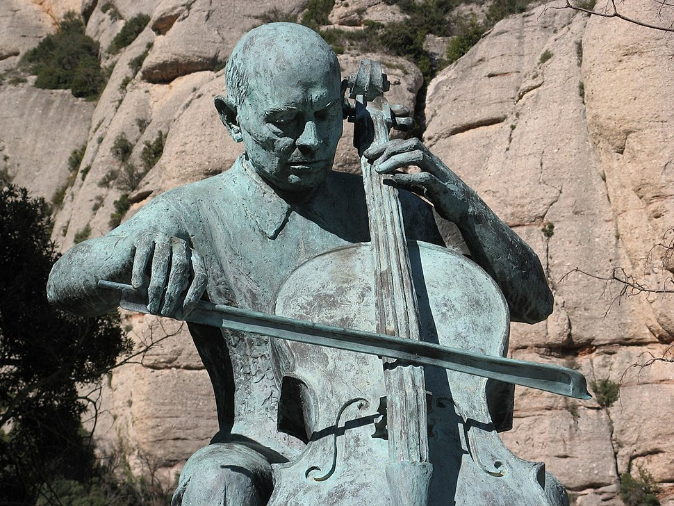 Pau Casals centenary statue