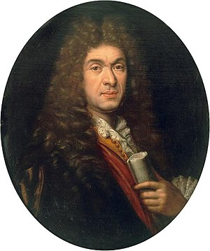 Paul Mignard - Portrait of Jean-Baptiste Lully