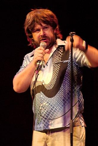 "Paul Putner - Paul Putner in 2007 (performing his ""Earl Stevens"" character)"