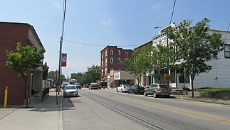 Peebles, Ohio - Image: Peebles OH2