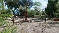 Pegli, parc Durazzo Pallavicini, vestiges du carrousel.jpg