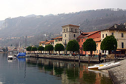 Pella along Lake Orta