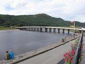 Penmaenpool - Penmaenpool toll bridge