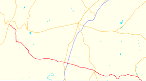 Pennsylvania Route 16 - Image: Pennsylvania Route 16 map