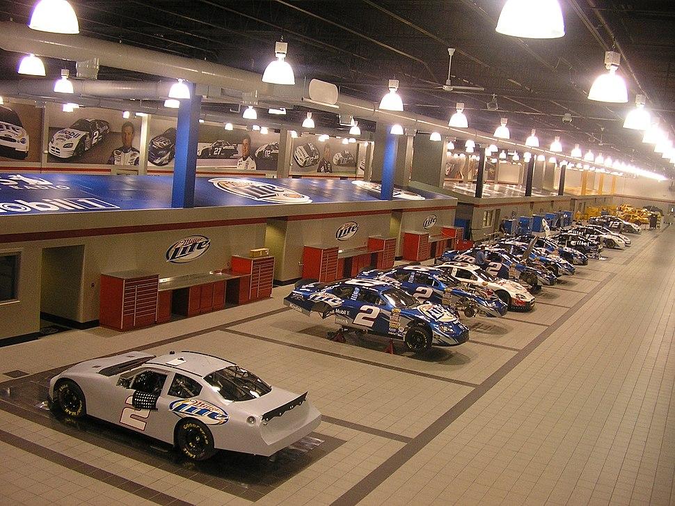 Penske-Racing-NASCAR-Garage-July-7-2005