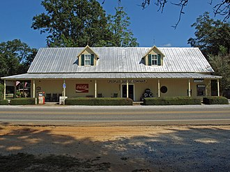 Silverhill, Alabama - Image: People's Supply Company Sept 2012 01