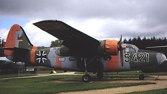 Percival Pembroke - Luftwaffe Pembroke C.54 preserved at the Junior Museum, Hermeskeil, Germany, in June 2007