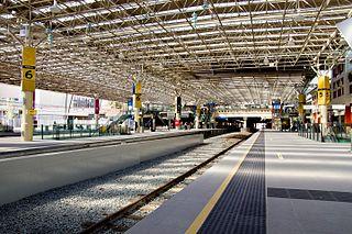 Perth railway station Railway station in Perth, Western Australia