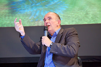 Peter Molyneux - Presentation of Fable II with Molyneux at Festival du jeu vidéo in 2008