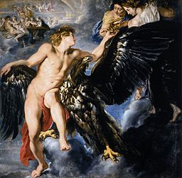 256px-Peter_Paul_Rubens_-_The_Abduction_of_Ganymede_-_WGA20282 People in Fiction: Zeus and Ganymede
