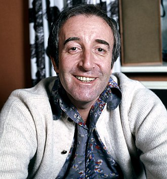 Peter Sellers on stage, radio, screen and record - Peter Sellers was one of the best known comedians of his generation; photograph taken in 1973.