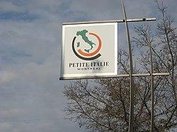 Piccola Italia emblema