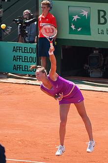 Vítězka finále ženské dvouhry na Turnaji mistryň v roce 2011 a ve.