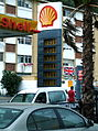 Petrol prices, Shell, Winston Churchill Avenue, Gibraltar.jpg