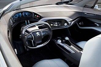 Peugeot 508 - Peugeot SR1 Concept dashboard