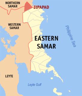 Jipapad Municipality in Eastern Visayas, Philippines