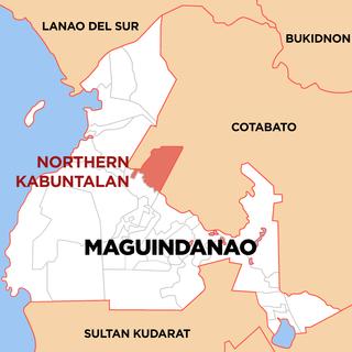 Northern Kabuntalan Municipality in Bangsamoro Autonomous Region in Muslim Mindanao, Philippines