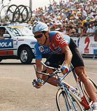 Anderson podczas prologu Tour de France (1993)