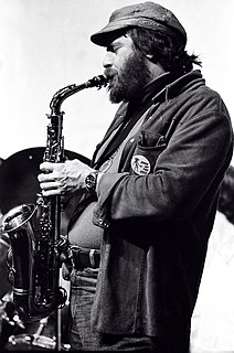 Phil Woods American saxophonist