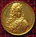 Philipp heinrich mueller. med. di giuseppe I imperatore, 1705 ca., oro.JPG