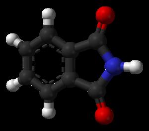 Phthalimide - Image: Phthalimide 3D balls
